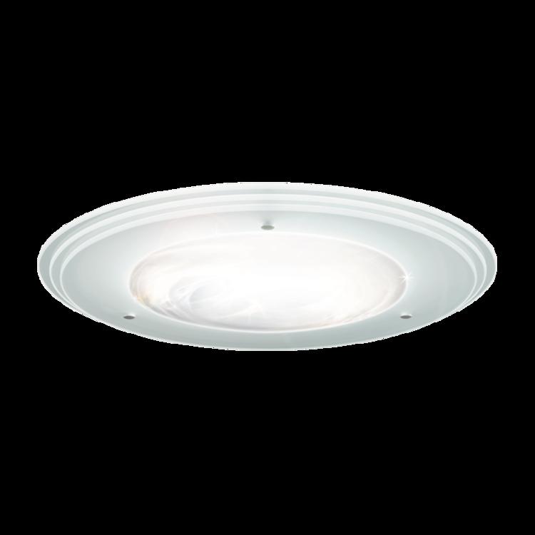 Ceiling diffuser, glass, designer, three layers
