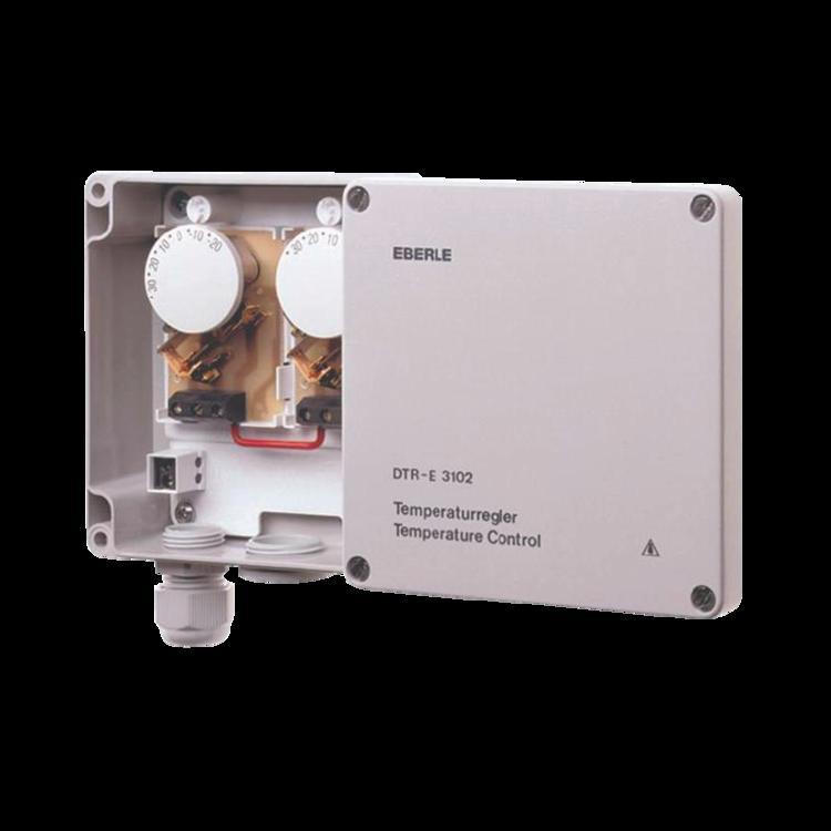 Universal external electronic thermostat